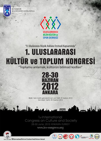 1st International Conference on Science Culture and Sport Conference Afişi