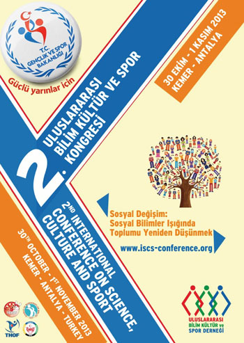 2nd International Conference on Science Culture and Sport Conference Afişi